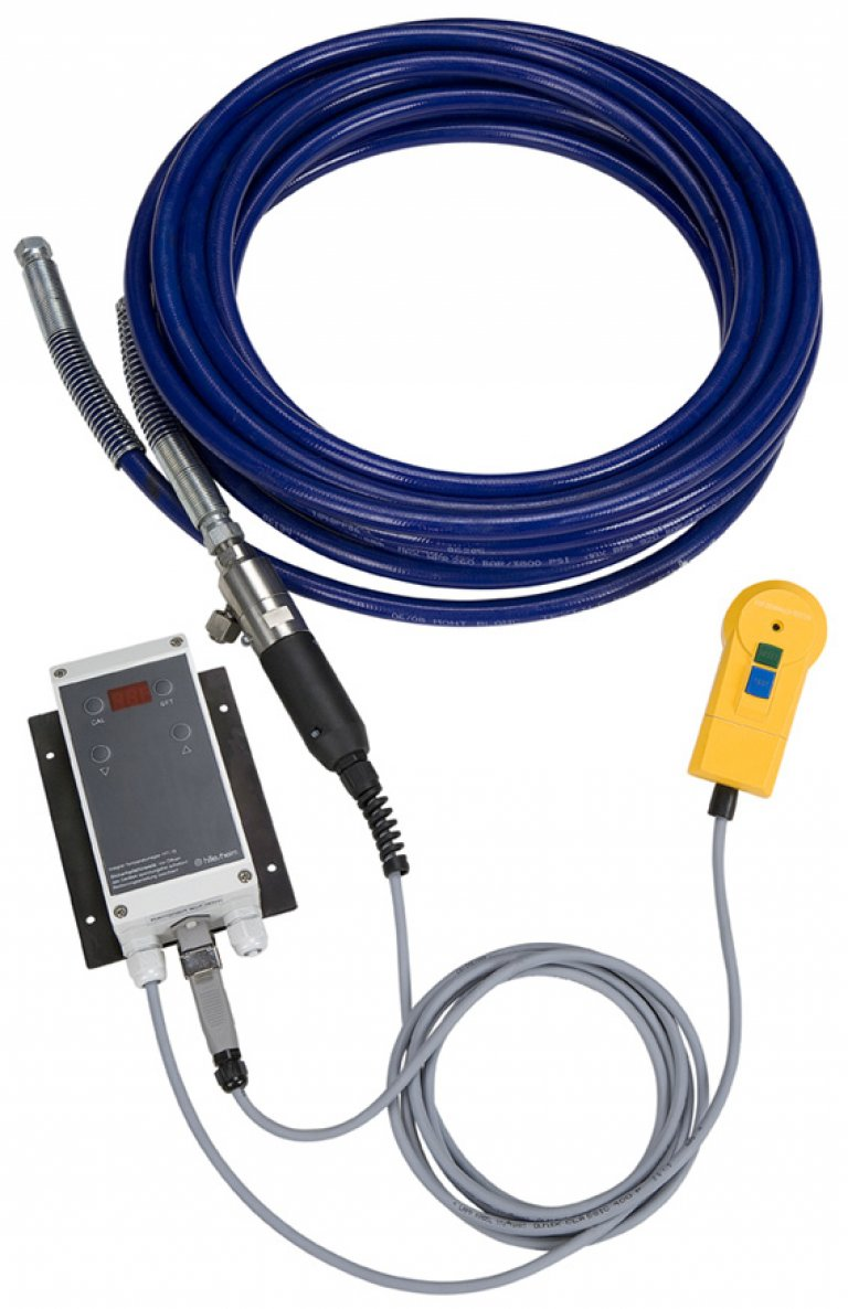 inoSPRAY Temp, heating hose for  airless devices