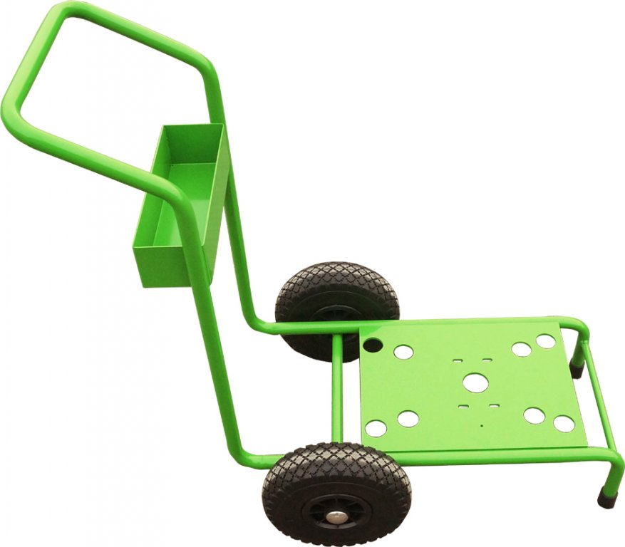 Trolley with 2 plastic wheels for inoSPRAY A4000 and  A5000 airless device