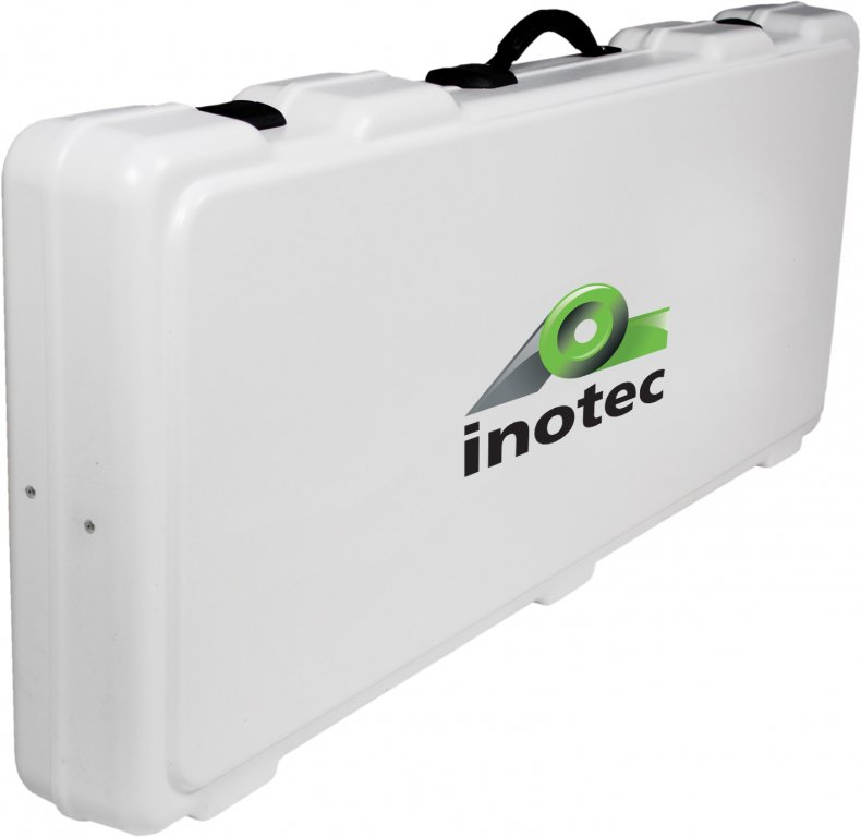 Plastic transport case for inoCUT ic128 and  ic128 Battery