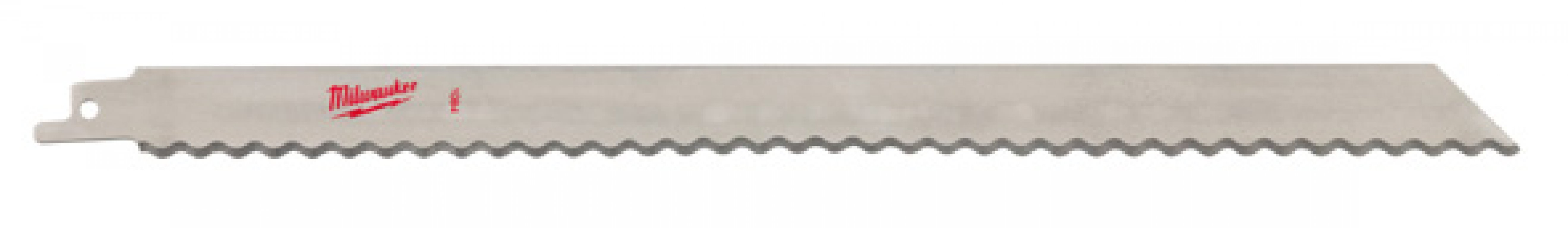 Replacement saw blades for Milwaukee cordless sabre saw