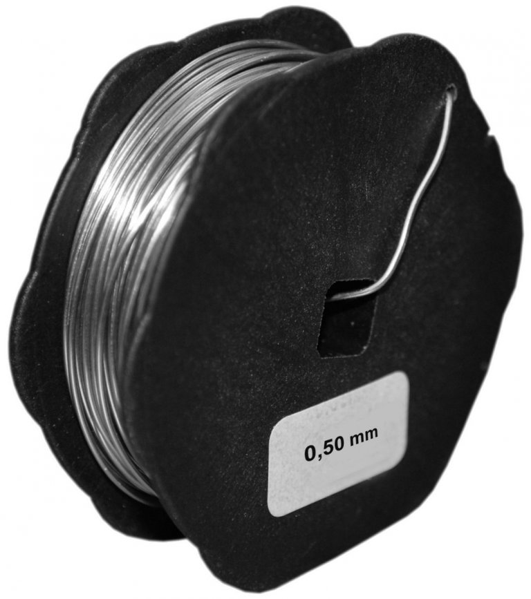 Spare wire with a diameter of 0.65 mm - 20 m