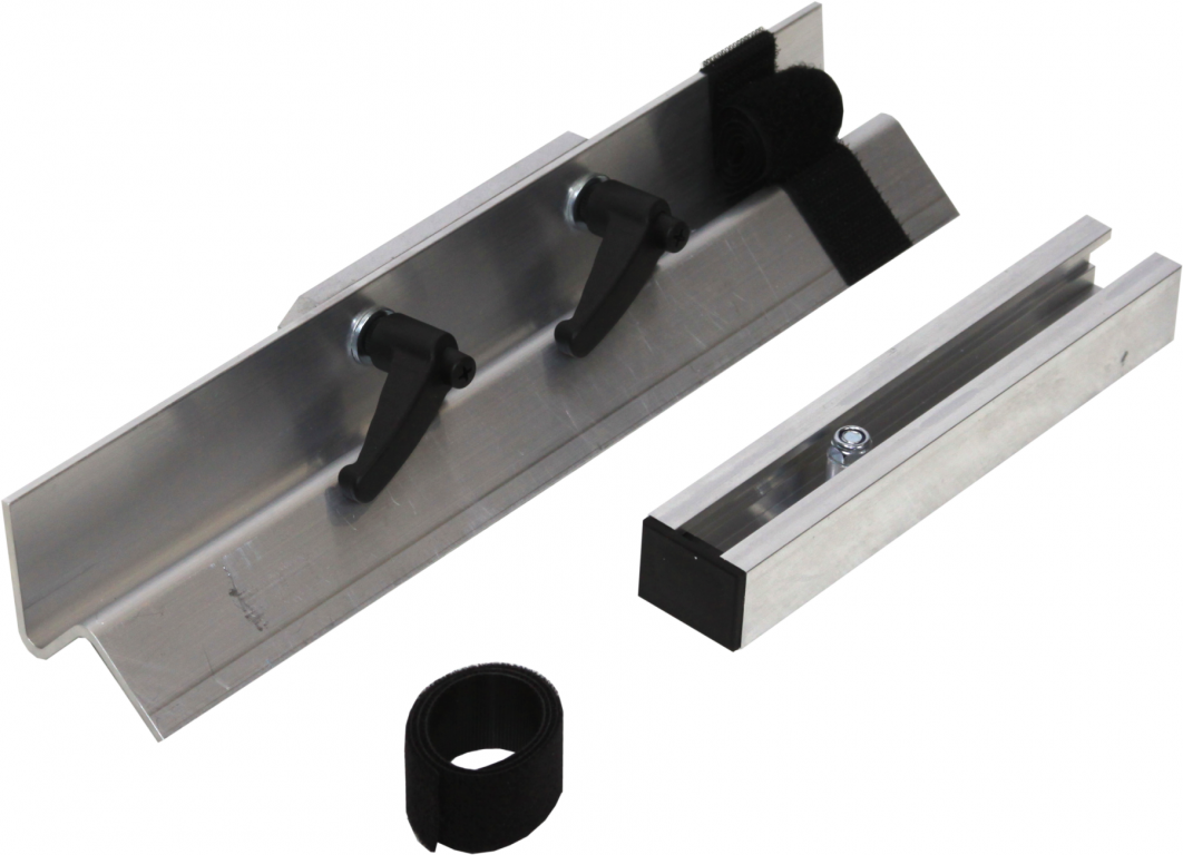 Railing bracket with mounting kit for inoCUT ic127 PRO