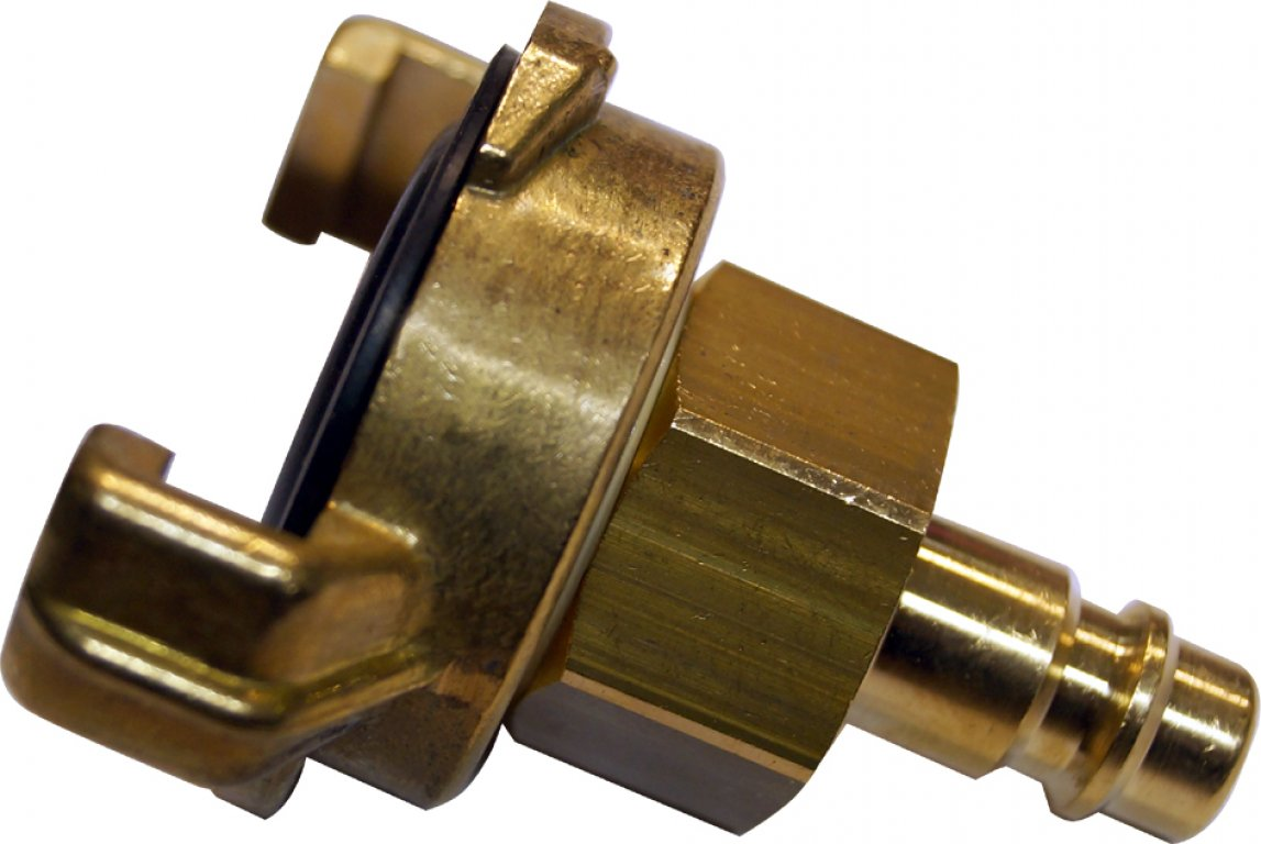 Connecting coupling for compressors
