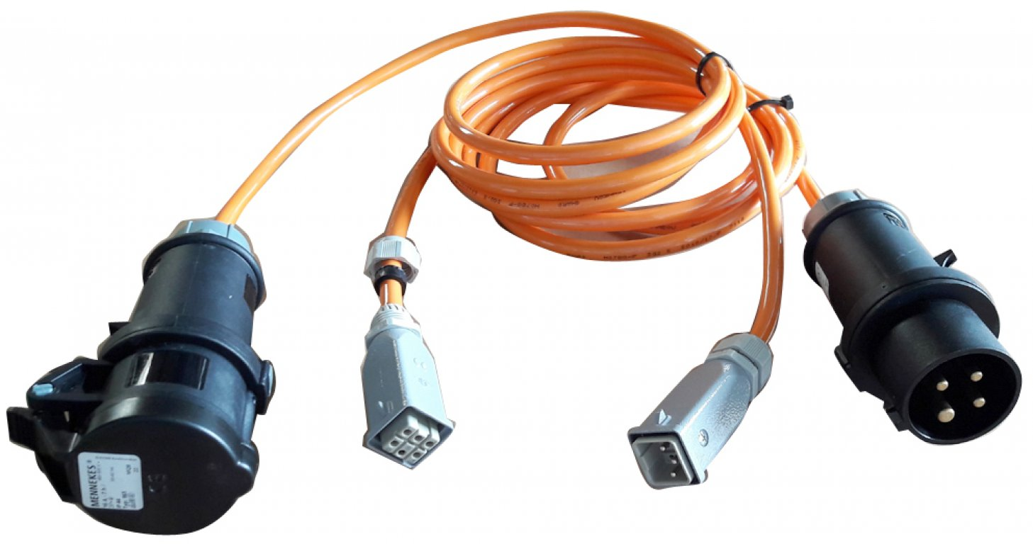 Cable for probe control system (pluggable)