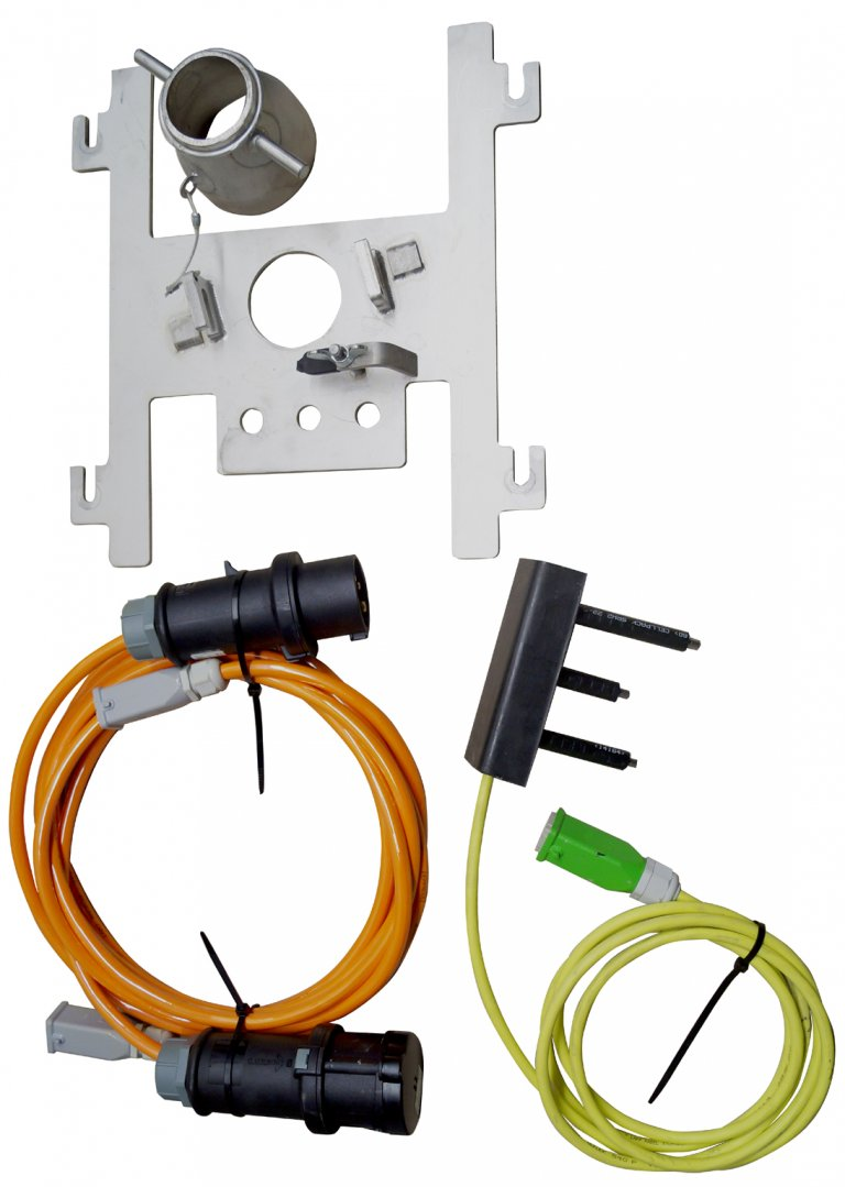 Probe control set F30 for inoBEAM F30 in combination with inoMIX E12 and one-way containers