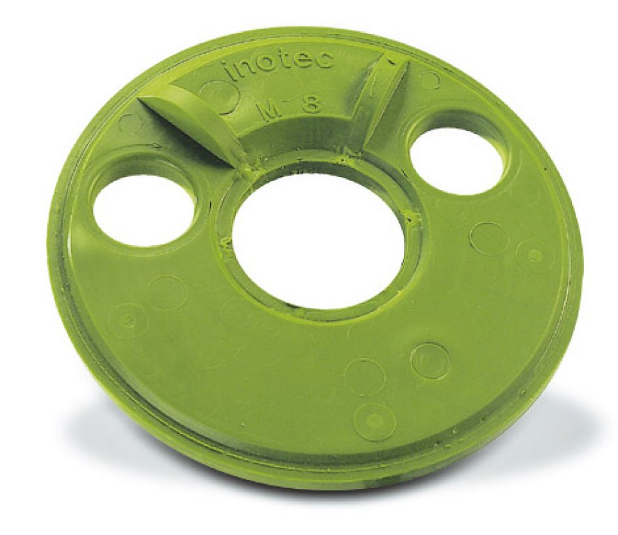 Green conveyor disc