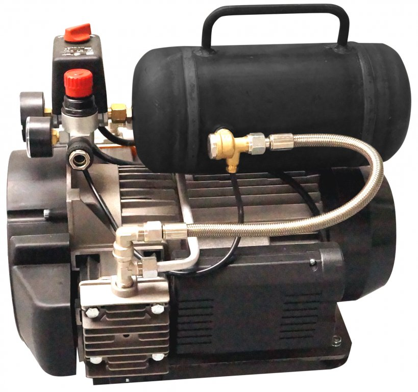 Picco Power optional accessories: Powerful compressor with pressure switch INOTEC compressor compact C 330 PP
