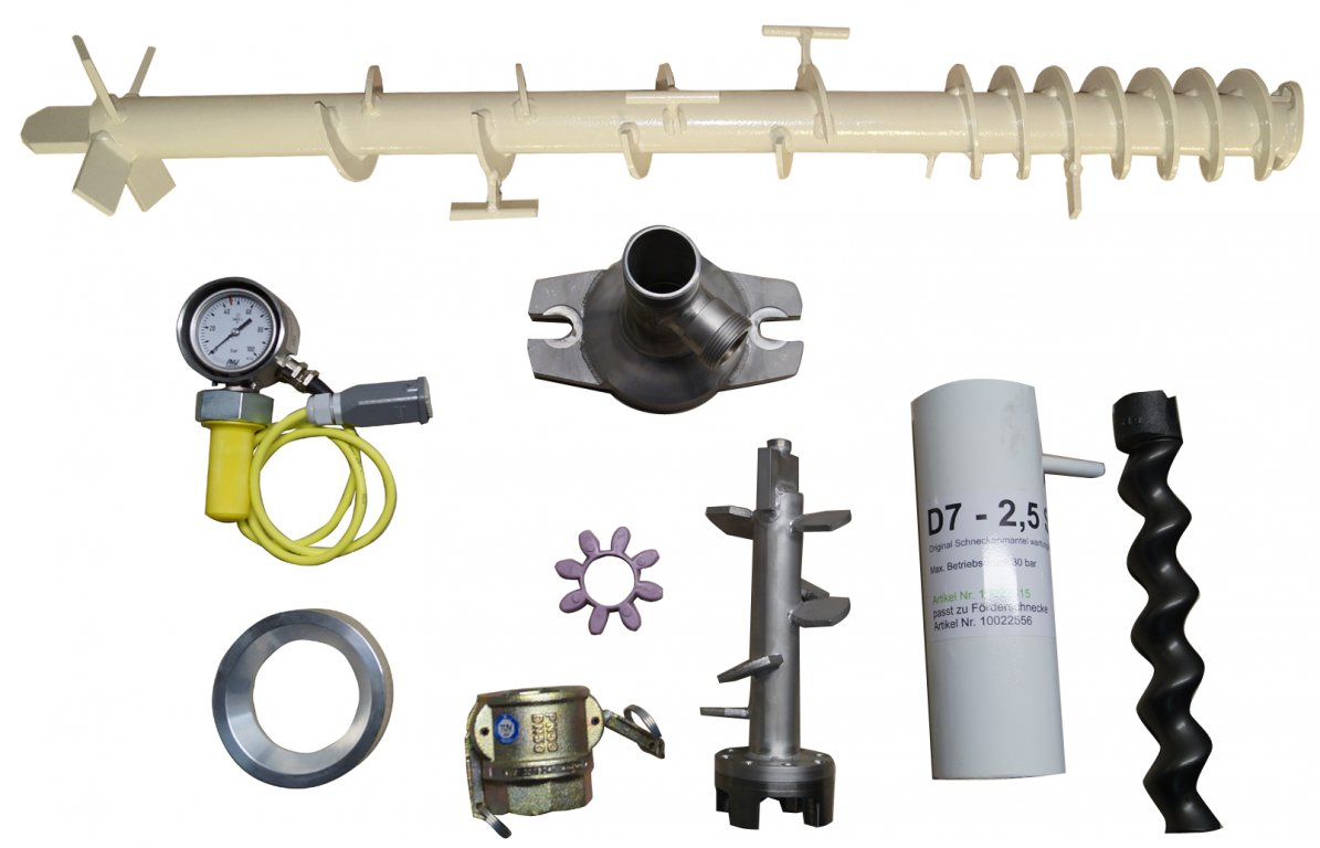 "Set ""D""-Cabrio (Rotor/Stator D7-2.5 S)"