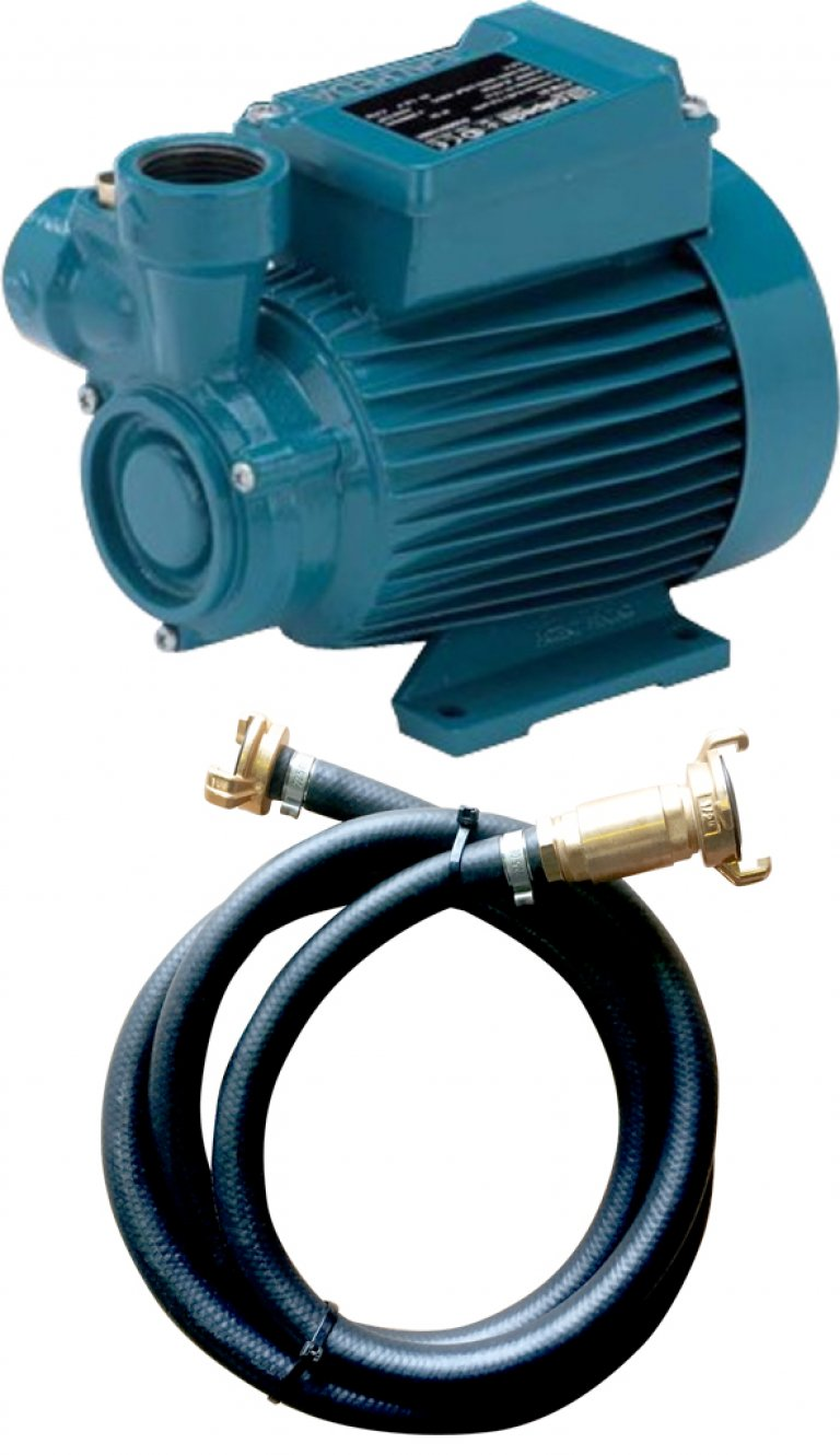 CTM61 booster pump with GEKA coupling for raising the water network
