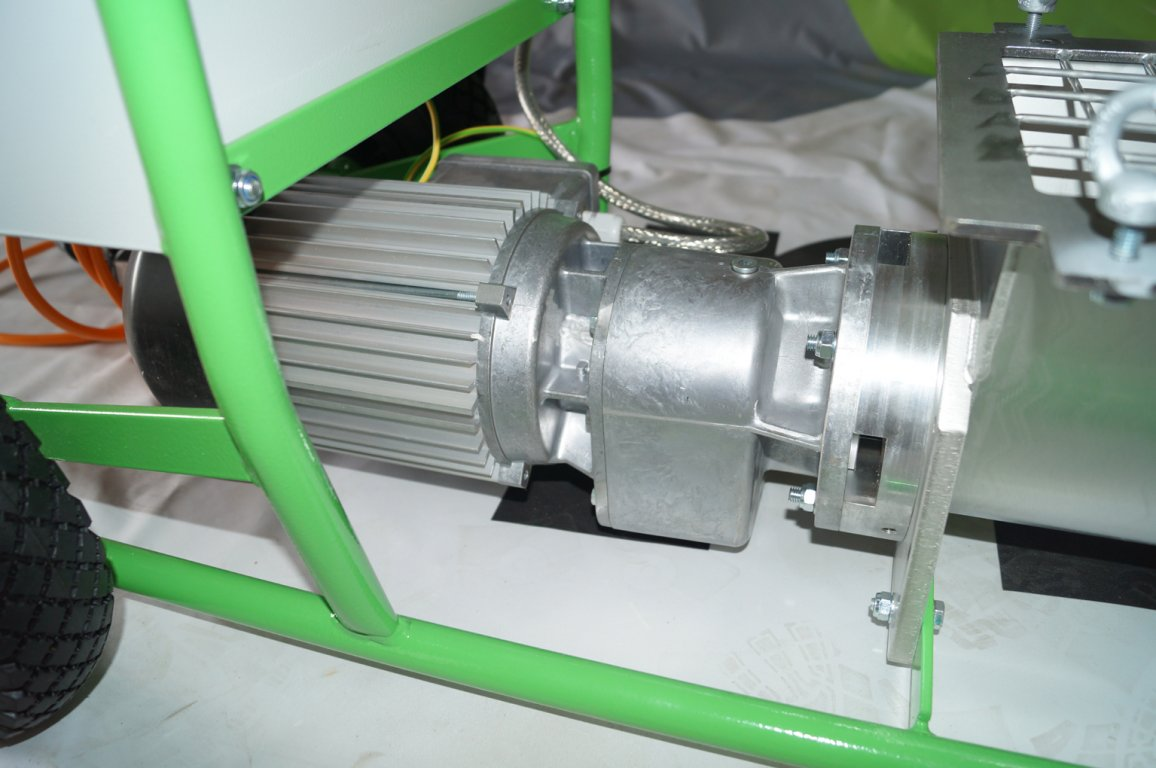 inoBEAM Light HP: 3,0 kW Antriebsmotor